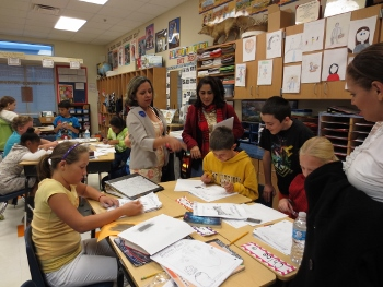 Fifth Grade Gets Visit from Brazilian Principals