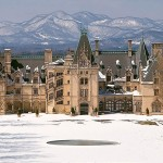 Winter at the Biltmore and the Blue Ridge Mountains